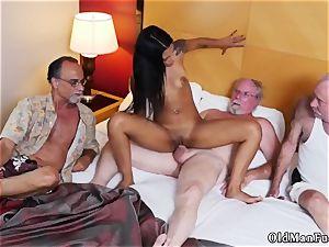 Jane pummeled by elderly boy adult cinema Staycation with a latin hotty