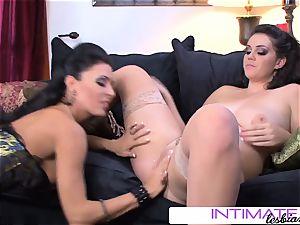 IntimateLesbians - Alison Tyler gargle Jessica's ample pleasure button
