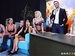 scorching filthy fun with Brandi love and her dolls