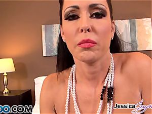 witness Jessica Jaymes blowing a moster man sausage