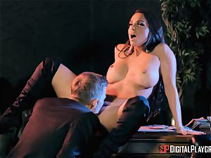 Abigail Mac takes on the monster sausage of Danny D