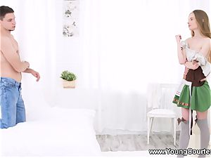 young Courtesans - Adel - Making love to hook-up queen