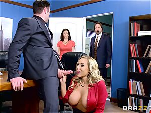 How to pummel in the office with Olivia Austin