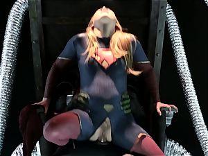 Supergirl Pt 1 Carter Cruise gets a heros smashing