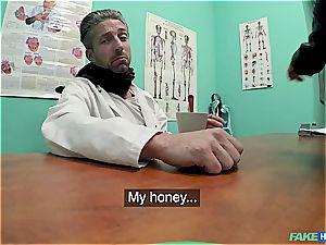 Hidden webcam orgy in the doctors office