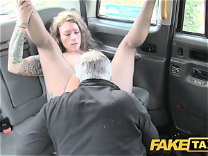 faux taxi Backseat thrills for cab drivers