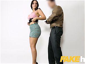 fake Agent spunk liking tatted Spanish honey