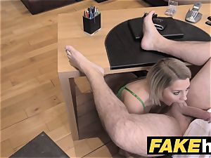 faux Agent UK puny minx gets hasty ass fucking porking