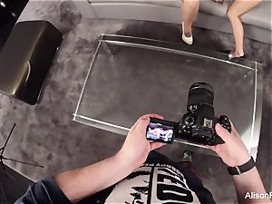 GoPro behind-the-scenes footage with Alison Tyler