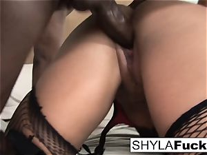 Prince delivers a black stiffy For Shyla