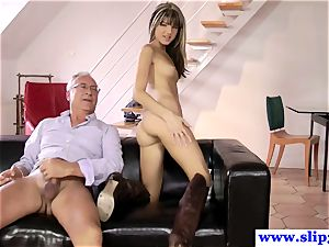 brit nubile analed deeply by old mans meatpipe