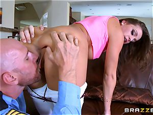 Abigail Mac gets shafted by a sizzling cop in uniform