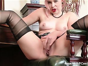 red-haired is antique nylon fetish fuckslut at jack Off Club