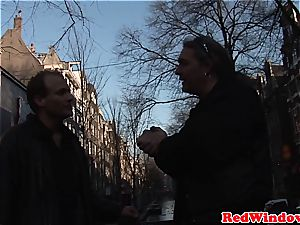 Tourist fuckin' a Dutch call girl