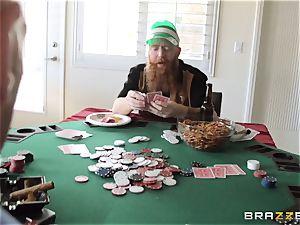 Sarah Jessie smashing her spouses poker acquaintance