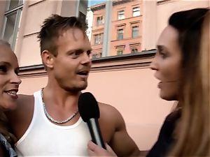 HITZEFREI German duo from street shag on camera