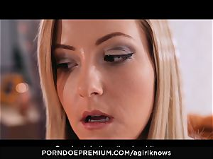 A girl KNOWS - Francys Belle loves girl-on-girl buttfuck play