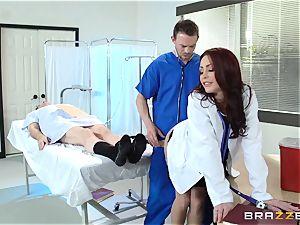 magnificent physician Monique Alexander penetrates her trainee