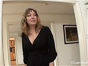 nubile gets woken up for girly-girl fucky-fucky with her stepmom