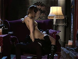 Dani Daniels implementing cogs and lollipops in her steampung dream