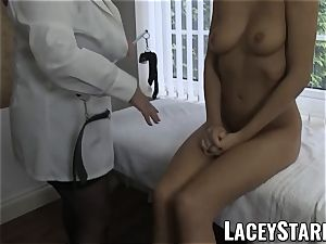 LACEYSTARR - super-sexy cunt inspected by physician GILF