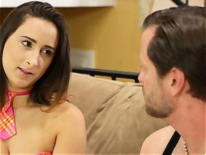 wild Ashley Adams gets her lovely minge slammed