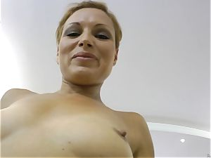 all-natural sweetheart getting jammed by Rocco Siffredi