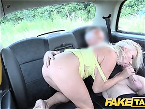 fake cab thick jugs ash-blonde Michelle Thorne