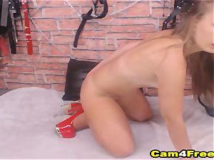 super-fucking-hot spectacular hoe honey masturbate on webcam