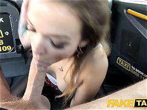 fake taxi diminutive Kylie Nymphette labia nailed
