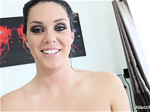 Interview with big-boobed sweetheart Alison Tyler