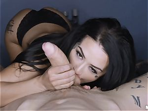 Katrina Jade pov cunt pummel whilst blindfolded