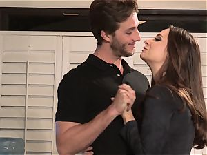 Conflicted Pt4 Cassidy Klein nailed sack deep in the vulva by her spouse