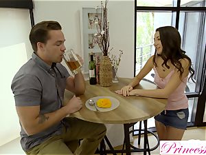 Lily Adams bangs her naughty stepbrother