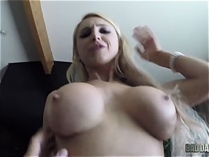 Alix Lynx point of view vag thrashed by her step-father