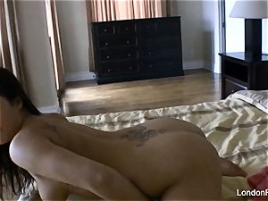 Home movie getting off with London Keyes