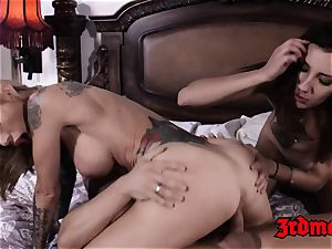 super-hot 3 way pound With Sarah Jessie and Sophia grace