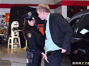 super-steamy cop Ava Addams takes advantage of a opportunity grab