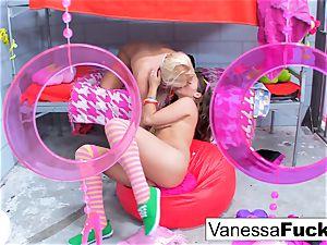 Flower strength lesbians Vanessa