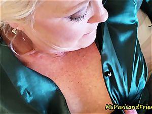 uber-sexy Satin experiences with Ms Paris Rose